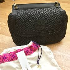 70% off Tory Burch Handbags - Tory Burch Marion Quilted Saddle Bag ... & Tory Burch Marion Quilted Saddle Bag Adamdwight.com