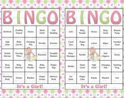 Baby Shower Printables Archives  Bath Time Fun TimeBaby Shower Bingo Cards Printable
