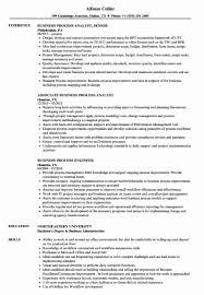 Process Analyst Sample Resume Process Analyst Sample Resume Best Of Business Process Resume 10