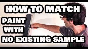 How To Match Paint Without A Sample Or Original Paint Can