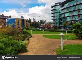 hermitage riverside memorial garden in london stock photo