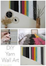 Diy Yarn Wall Art By Two Thirtyfive Designs Apartments Design Design