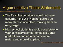 thesis statement for pearl harbor attack do resumes have to have  thesis statements for personal essays