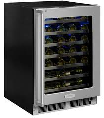 ft high efficiency single zone wine refrigerator stainless