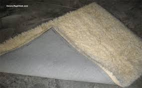 wool rug is yellowing from
