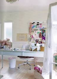 shabby chic office desk. Gorgeous Shabby Chic Office Beautiful Space: Full Size Desk C