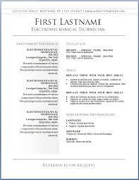 Resumes In Word. Resume In Word Resume Template Free Download