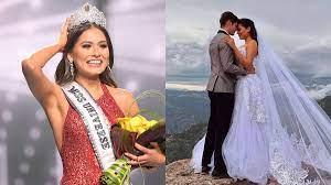 Is Miss Universe 2020 Andrea Meza ...