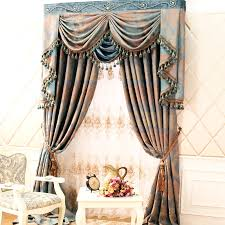 Curtain Patterns New Retro Style Curtains With Delicate Patterns Of Chenille