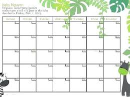 8 Best Images Of Pool Calendar Printable Template Baby Danielmelo Info