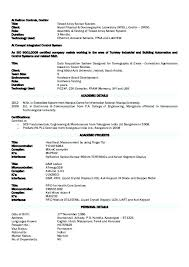 Standard Resume Format Amazing Best Resume Format For Experienced Electrical Engineers Proper
