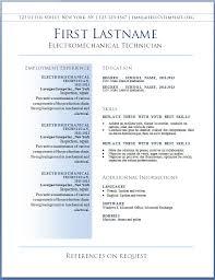 Resume Template Free Best Resume Format Download Free Career