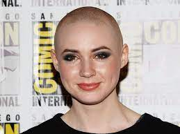 Bald Karen Gillan mistaken for a man by ...