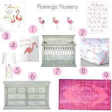 flamingo nursery set of 3 pink flamingo watercolors prints flamingo baby bedding flamingo nursery flamingo nursery set