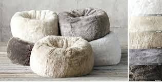fluffy bean bags come right fur bean bag chair for you home design image of faux