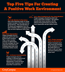 Positive Work Environment Quotes Enchanting Top Five Tips For Creating A Positive Work Environment Project