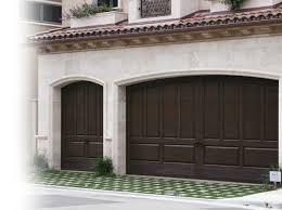 wood garage door panelsRaised panel wooden garage doors  Southern California