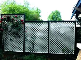 corrugated metal fence s privacy cost plans tucson