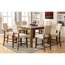 dining table set 8 chairs. furniture of america kincade 9 piece counter height dining table set | hayneedle 8 chairs g