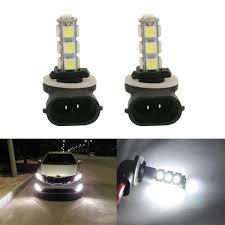 898 Fog Light Bulb Details About 2x H27w 2 881 Led Fog Light Daytime Running Light Bulb