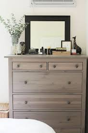 The dresser in our bedroom always gets compliments when people come over,  which makes me laugh because it's a simple piece from IKEA and is from G  ...