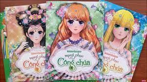 Video Sách Hình Dán Búp Bê Công Chúa Tuyệt Đẹp Dành Cho Bé Gái Books  STicker Princess Dressing (Rainbow Candy)