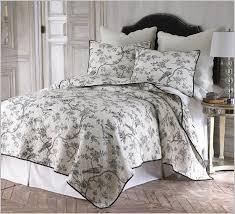 black and white toile bedding designs