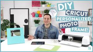 CRAFT WITH ME! <b>DIY</b> Cricut <b>Personalized Photo</b> Frame! - YouTube