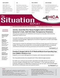 March 18 2019 Edition Of The Situation Report By Home Care