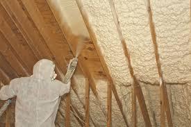 spray attic foam insulation diy
