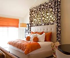 creative ideas for decorating the space above your bed curtain above head bed wall design