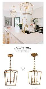 kitchen pendant track lighting fixtures copy. Circa Lighting E. F. Chapman Darlana Lantern $483 Vs @homedepot Denmark Golden Iron Pendant $231 · Kitchen FixturesCheap Track Fixtures Copy O