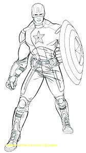 The Winter Soldier Captain Coloring Page The Winter Soldier Captain