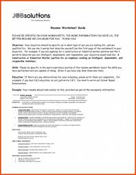 Example Of Construction Resume 10 Samples Of Construction Resumes Proposal Sample