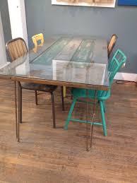glass table legs hair pin legs door table google search dream home