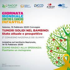 COMUNICATO STAMPA 2020 – Giornata mondiale contro il cancro infantile