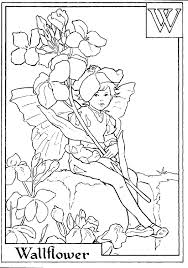 Small Picture Flower Fairies Coloring Coloring Pages