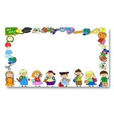 Card Template For Kids Cute Nice Lovely For Children And Fun