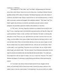 conformity vs rebellious essay zoom