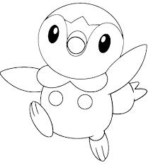 Piplup Disegno Da Colorare Gratis Pokemon Disegni Da Colorare E