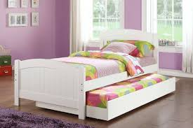 ... Kids Furniture, Girls Trundle Beds With Storage Drawers Twin Trundle  Beds For Children With Awesome ...