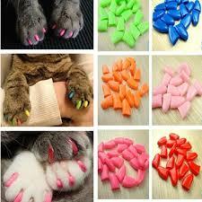 soft cat pet nail caps control pets