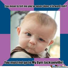 RMX] Skeptical Baby My Gym by joshmeister1027 - Meme Center via Relatably.com