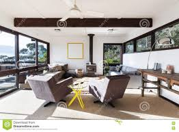 funky style furniture. funky retro beach house living room with 70s style chairs stock furniture o
