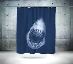 shark shower curtain excellent coration surprising ias iene om pa uk
