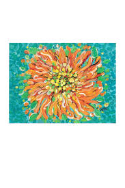 Small Picture My Island Floral Canvas Placemats Set of Home and Islands