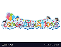 Congratulations Design Font Design For Word Congratulations