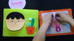 Đồ chơi thông minh cho bé 1 tuổi 2 tuổi - sách vải
