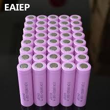40pcs/lot 3.7V 2600mAh <b>EAIEP</b> Original 18650 rechargeable li-ion ...