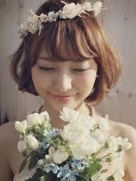 レングス髪型別特別なシーンを彩る花冠の簡単ヘアアレンジ